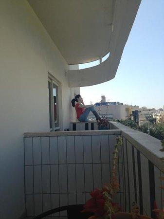 Center Chic Hotel Tel Aviv - an Atlas Boutique Hotel: balcony