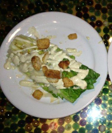 Clementine Cafe : Grilled Caesar salad