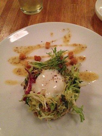 Garces Trading Company: duck confit salad