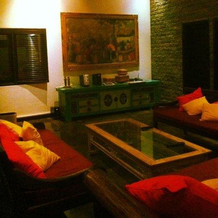 Villa Bugis: Lounge area