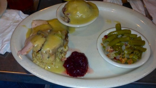 Cotton Patch Cafe: Turkey & Dressing senior