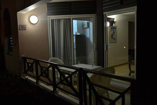Hotel Le Panoramic: Terrasse de la chambre