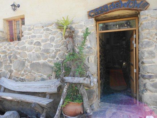 Casa de Wow!!!: Front Door