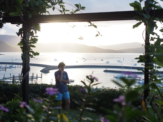 Whitsunday Moorings Bed and Breakfast: front garden and everyones view