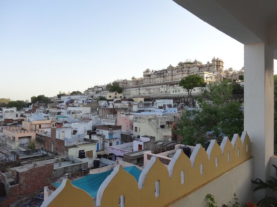 Hotel Janak Niwas: Amazing rooftop views