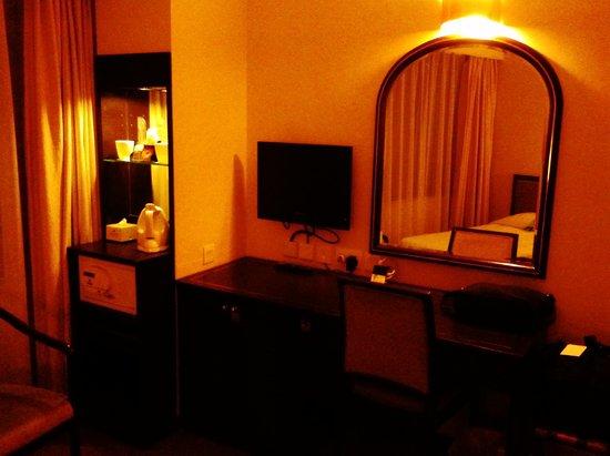 South Pacific Hotel: コンパクトに必要なものがまとめられています