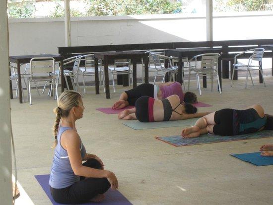 SXM Yoga: our teacher Petra