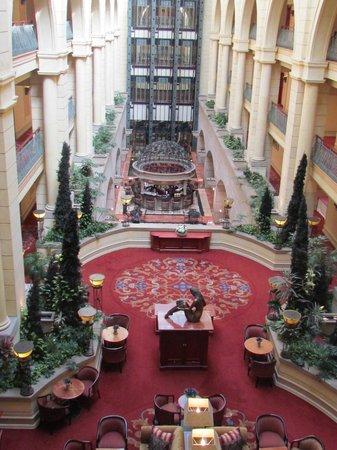 Michelangelo Hotel: Vista do nosso quarto.