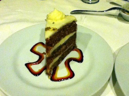 Texas de Brazil: Carrot Cake