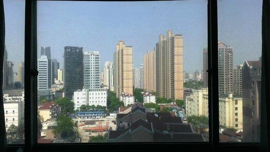 Rayfont Hongqiao Hotel & Apartments Shanghai: 部屋からの眺め