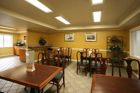 San Mateo SFO Airport Hotel: breakfast area