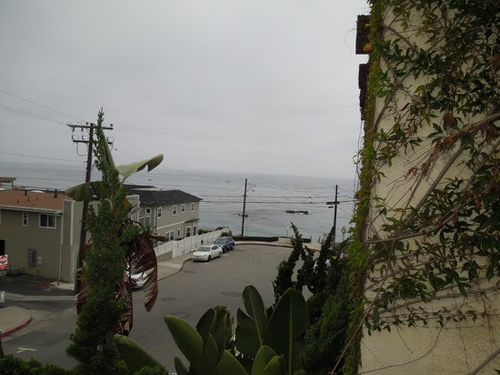 La Casa del Camino: Picture from our hallway balcony from a non ocean view side