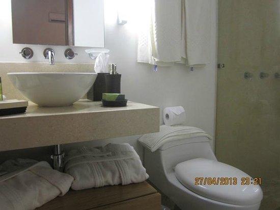 Hotel Santo Toribio: Bathroom