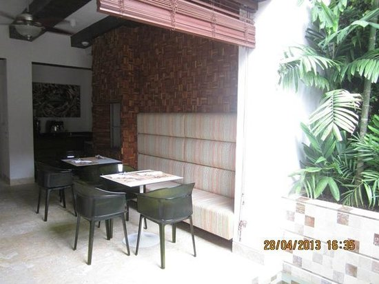 Hotel Santo Toribio: Breakfast area
