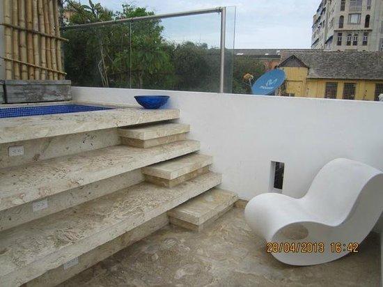 Hotel Santo Toribio: Jacuzzi