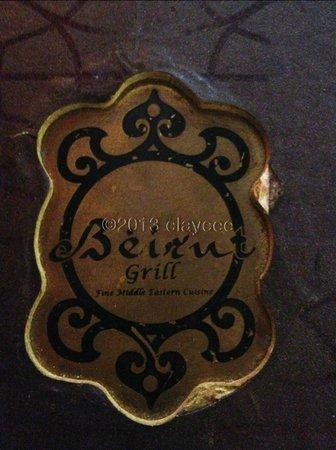 Beirut Grill Menu Cover