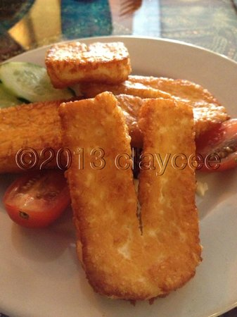 Beirut: Fried Cheese