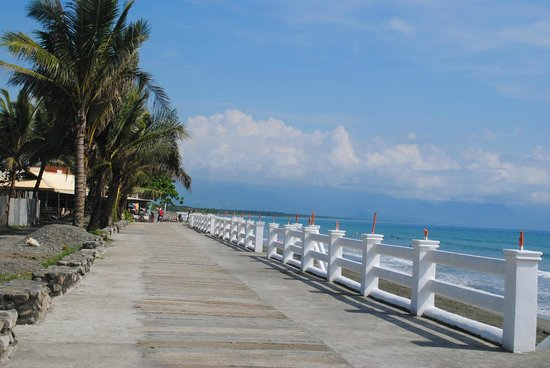 Baran Sabang A Beautiful Beacfront Walkway In Front Of The New 5 Star Resort