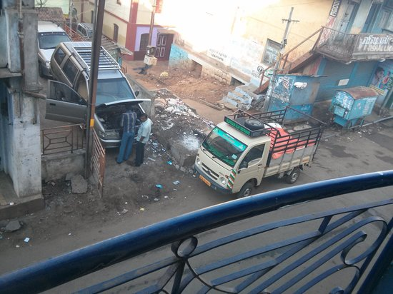 Nahar's Residency Hotel: The view from the room
