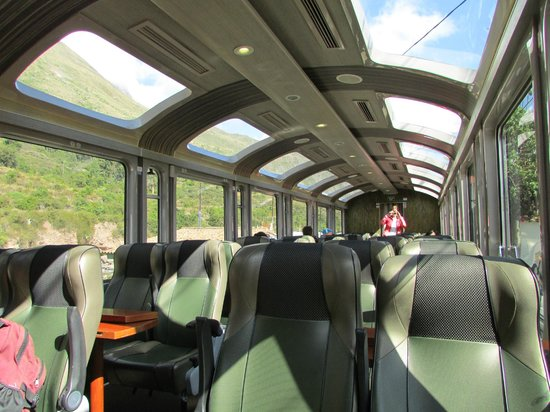 PeruRail - Expedition: second view of seating