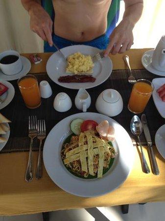 Samaja Beachside Villas: breakfast