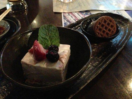 Shuraku Sake Bar & Bistro : Cheesecake