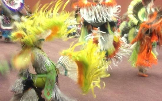 Wind River Casino: Men's fancy dancers