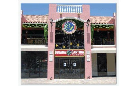 Iguana Cantina: Front view