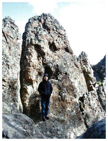 Hanging Rock Reserve: Weird Rocks