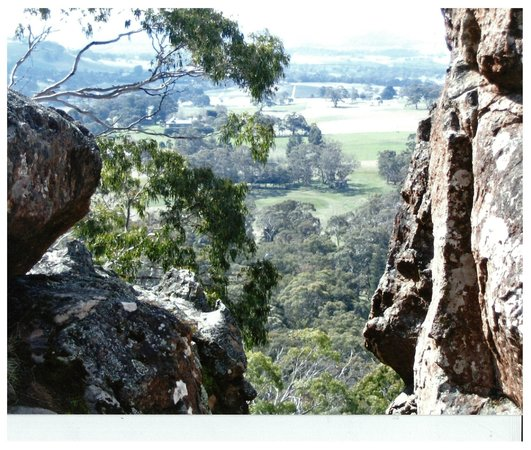 Hanging Rock Reserve: A view from the top