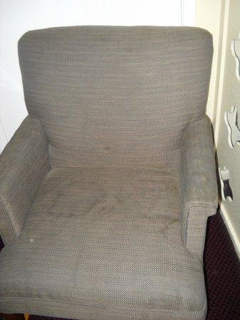 Travelers Inn: Soiled chair #2