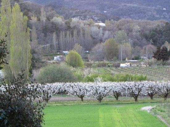 La Madelene: View of surrounding fields