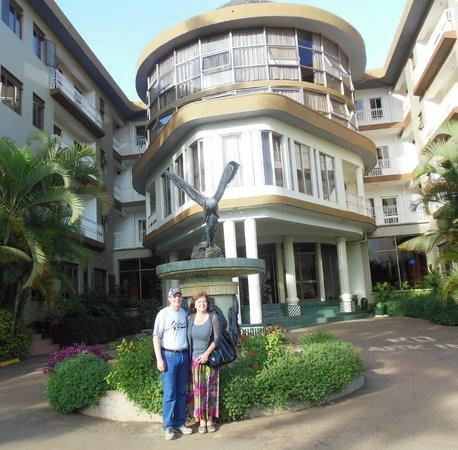 Ridar Hotel: entrance