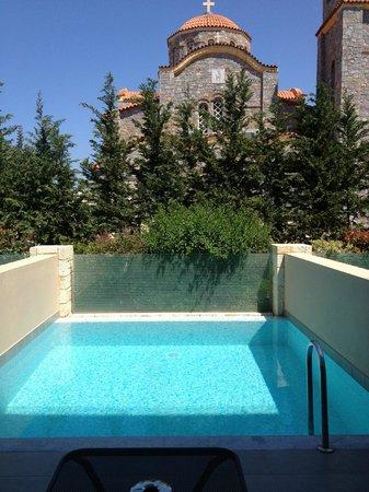 Castello Boutique Resort & Spa: Private pool