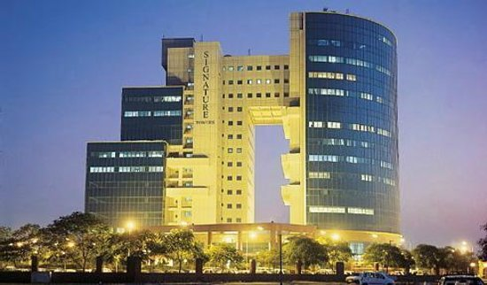 Gurgaon, Inde : Signature Towers