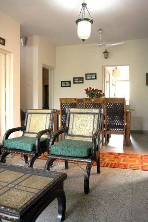 Chhoti Haveli: Sitting and Dining area