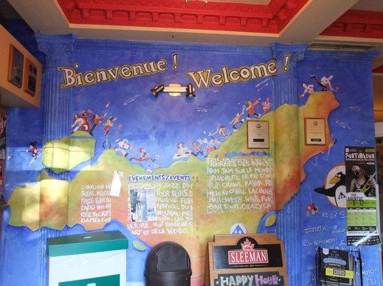HI Montreal Hostel: un colorato benvenuto
