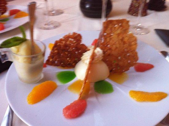 L'Arche de Meslay: On a adoré ce dessert frais et léger