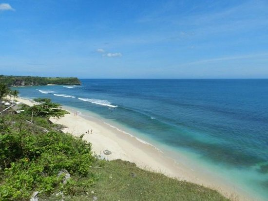 Jimbaran, Indonesien: White sand beaches