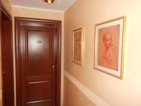 Hotel Antico Masetto : corridoio