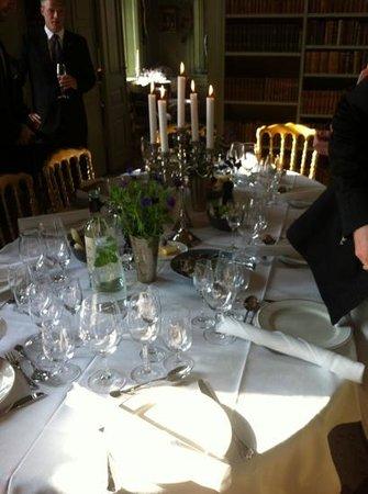 Oreby Mølle : bryllupsbord