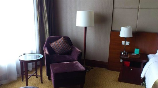 Golden Hotel: Coffee table and Couch