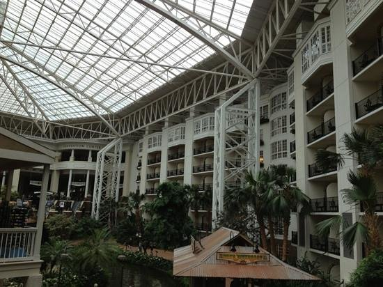 Gaylord Opryland Resort & Convention Center: Rooms off of the Delta Island area