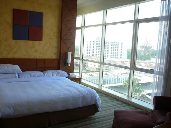 Ariva Gateway Kuching: Master Bedroom's gorgeous view
