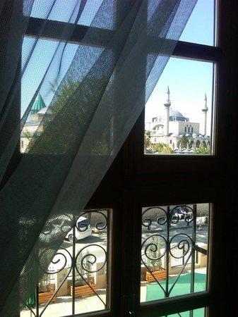 Hich Hotel Konya: Odanın manzarası