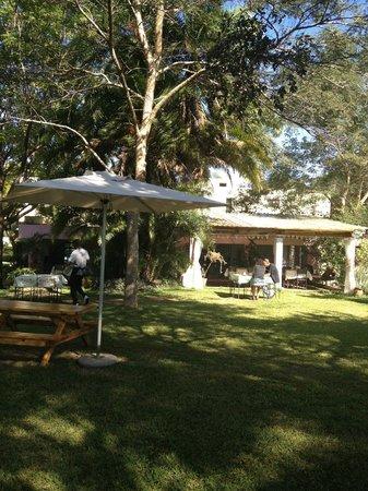 Lark Cafe: Peaceful surrounds
