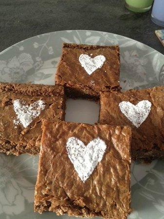 Lark Cafe: Choc fudge brownies