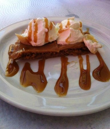Restaurante El Ventorrillero: Banoffee pie (tarta toffee)