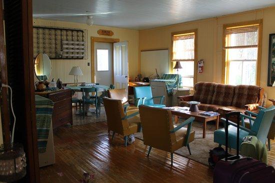 Cafe Chez Sam : la sala al piano di sopra