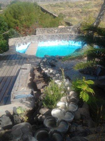 Hacienda Cristoforo : the rock pool